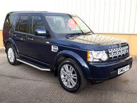 2013 LAND ROVER DISCOVERY 3.0 4 SDV6 GS 5d AUTO 255 BHP £SOLD