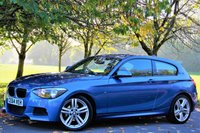 USED 2014 64 BMW 1 SERIES 2.0 116D M SPORT 3d 114 BHP