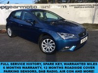 USED 2014 14 SEAT LEON 1.6TDI SE TECHNOLOGY 5d **6 MONTHS WARRANTY**