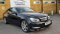 USED 2012 12 MERCEDES-BENZ C CLASS 2.1 C250 CDI BLUEEFFICIENCY AMG SPORT ED125 2d AUTO 204 BHP