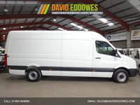"USED 2015 65 VOLKSWAGEN CRAFTER 2.0 CR35 TDI H/R P/V  136BHP LWB HI ROOF-ONE OWNER ""YOU'RE IN SAFE HANDS"" - AA DEALER PROMISE"