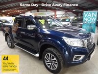 """USED 2016 66 NISSAN NAVARA 2.3 DCI TEKNA 4X4 SHR DOUBLE CAB PICK UP 190 BHP-**NEW SHAPE** ONE OWNER-SAT NAV - """"YOU'RE IN SAFE HANDS"""" - AA DEALER PROMISE"""