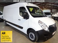 """USED 2016 66 VAUXHALL MOVANO 2.3 F3500 L3H2 P/V CDTI 135 BHP -ONE OWNER-VERY LOW MILEAGE """"YOU'RE IN SAFE HANDS"""" - AA DEALER PROMISE"""