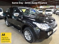 "USED 2015 65 MITSUBISHI L200 2.4 DI-D 4X4 BARBARIAN DOUBLE CAB PICK UP 178 BHP LOW MILEAGE - FULL  SERVICE HISTORY ""YOU'RE IN SAFE HANDS"" - AA DEALER PROMISE"