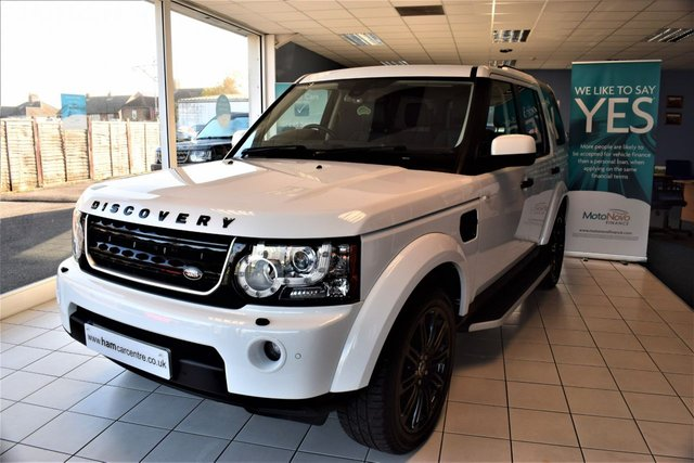 2010 60 LAND ROVER DISCOVERY 4 3.0 4 TDV6 HSE 5d AUTO 245 BHP 2014 MODEL YEAR LOOKS BLACK STYLING PACK