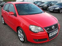 USED 2007 07 VOLKSWAGEN POLO 1.8 GTI 5d 148 BHP Full Vw service history - 1 Previous owner