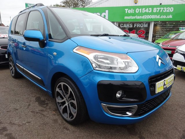 USED 2010 60 CITROEN C3 PICASSO 1.6 PICASSO EXCLUSIVE HDI 1d 110 BHP £0 DEPOSIT FINANCE AVAILABLE....REAR PARKING SENSORS.....TEST DRIVE TODAY CALL 01543 877320