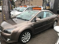 USED 2007 57 FORD FOCUS 2.0 CC3 2d 144 BHP