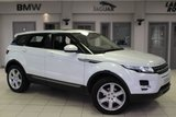 USED 2014 64 LAND ROVER RANGE ROVER EVOQUE 2.2 SD4 PURE TECH 5d AUTO 190 BHP - full land rover service history  FULL LEATHER SEATS + FULL LAND ROVER SERVICE HISTORY + SATELLITE NAVIGATION + HALOGEN HEADLIGHTS + 19 INCH ALLOYS + HEATED FRONT SEATS + DAB RADIO + PARKING SENSORS + CRUISE CONTROL