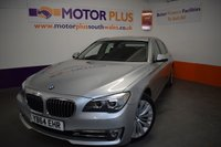 USED 2014 64 BMW 7 SERIES 3.0 730LD SE EXCLUSIVE 4d AUTO 255 BHP