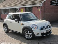 2010 MINI HATCH ONE 1.6 ONE (ONE OWNER FROM NEW) 3dr £4690.00
