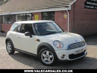 2010 MINI HATCH ONE 1.6 ONE PEPPER PACK / 1 OWNER) 3dr £4290.00