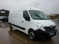 2015 RENAULT MASTER 2.3 LM35 BUSINESS ENERGY DCI S/R PANEL VAN 135 BHP WITH ELECTRIC WINDOWS CD PLAYER AND  MORE £9995.00