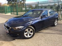 2012 BMW 3 SERIES 2.0 320D EFFICIENTDYNAMICS 4d 161 BHP ALLOYS CLIMATE CRUISE PARKING SENSORS MOT 10/19 £7990.00