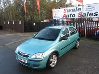 USED 2004 04 VAUXHALL CORSA 1.2 ENERGY 5d 75 BHP SEE FINANCE LINK FOR OPTIONS