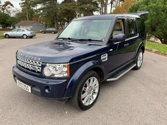 2013 LAND ROVER DISCOVERY 3.0 4 SDV6 HSE 5d AUTO 255 BHP £17650.00