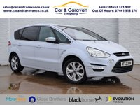 USED 2012 62 FORD S-MAX 2.0 TITANIUM TDCI 5d 161 BHP Full Service History Huge Spec Buy Now, Pay Later!