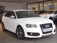 USED 2010 10 AUDI S3  S3 TFSI QUATTRO S LINE BLACK EDITION 3d 261 BHP BOSE+HTD LEATHER+CAMBELT DONE