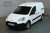 USED 2014 14 PEUGEOT PARTNER 1.6 E-HDI SE L1 605 AUTO ECO 90 BHP SWB PANEL VAN AUTOMATIC GEARBOX