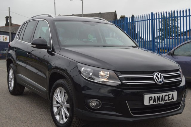 2012 12 VOLKSWAGEN TIGUAN 2.0 SE TDI BLUEMOTION TECHNOLOGY 4MOTION 5d 138 BHP
