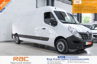 2017 RENAULT MASTER 2.3 LM35 BUSINESS DCI 130 BHP * 3 YEARS RENAULT WARRANTY REMAINING * £13995.00