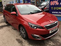 USED 2015 15 PEUGEOT 308 1.6 BLUE HDI S/S SW ALLURE 5d 120 BHP, 1 Owner, only 45000 miles ***GREAT FINANCE DEALS AVAILABLE***