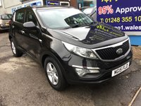 USED 2015 15 KIA SPORTAGE 1.7 CRDI 1 ISG 5d 114 BHP, 1 owner, only 58000 miles ***GREAT FINANCE DEALS AVAILABLE***