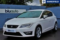 USED 2014 14 SEAT LEON 1.4 TSI FR TECHNOLOGY 5d 140 BHP Navigation System, Front & Rear Parking Sensors, Climate Control, Half Leather Trim, Three Seat Services, Cruise Control, Technology Pack
