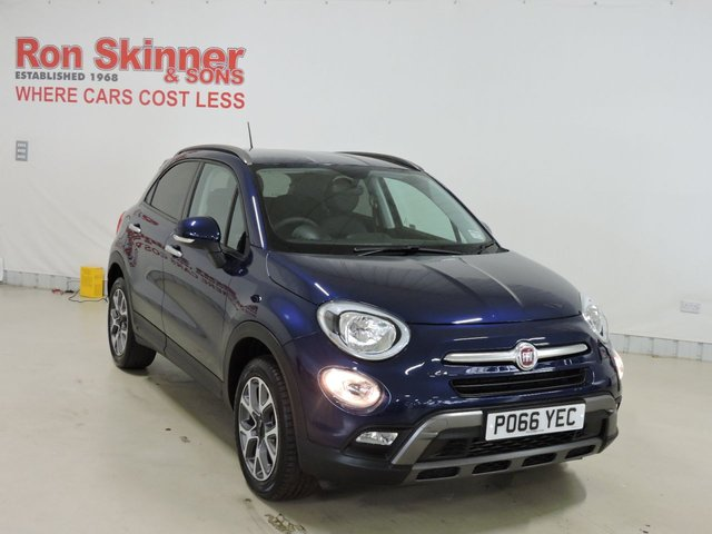 View our 2016 66 FIAT 500X 1.4 MULTIAIR CROSS 5d 140 BHP