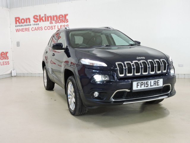 View our 2015 15 JEEP CHEROKEE 2.0 M-JET LIMITED 5d AUTO 168 BHP