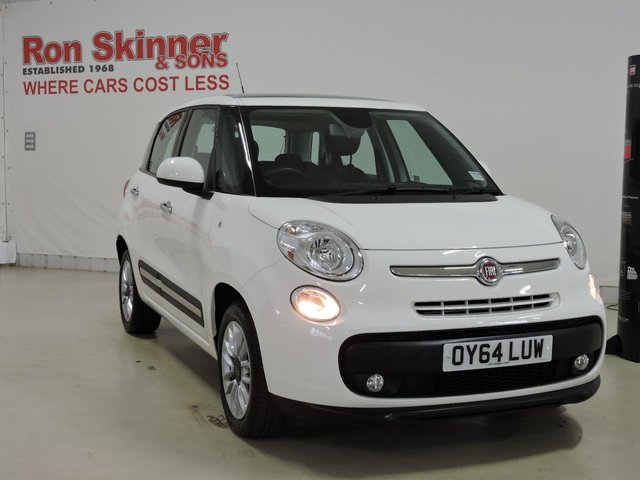 View our 2014 64 FIAT 500L 1.4 LOUNGE 5d 95 BHP