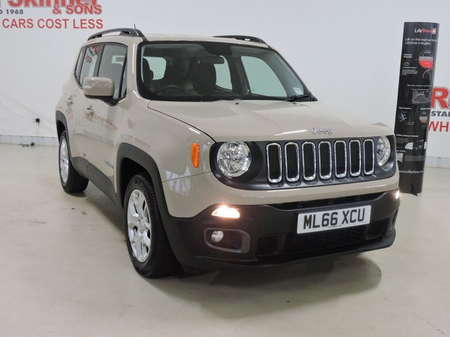 View our 2016 66 JEEP RENEGADE (5) 1.6 M-JET LONGITUDE 5d 118 BHP