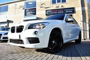 2015 BMW X1 XDRIVE20D M SPORT 184 BHP £15750.00