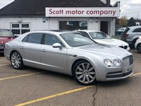 USED 2013 63 BENTLEY FLYING SPUR 6.0 W12 4 door Automatic 616 BHP Huge specification