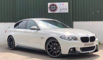 2016 BMW 5 SERIES 2.0 520D M SPORT 4d AUTO 188 BHP £21495.00