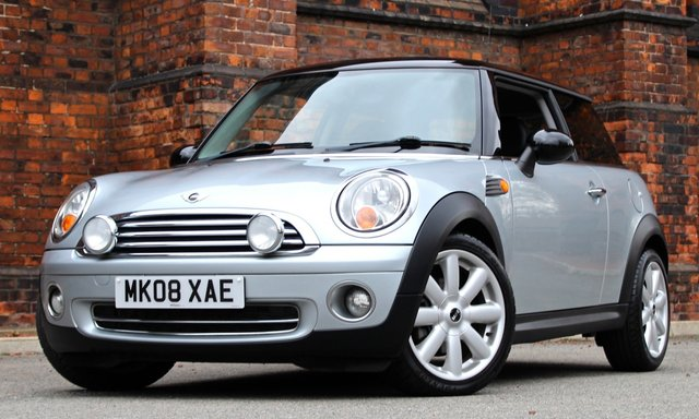 2008 08 MINI HATCH COOPER 1.6 COOPER 3d 118 BHP