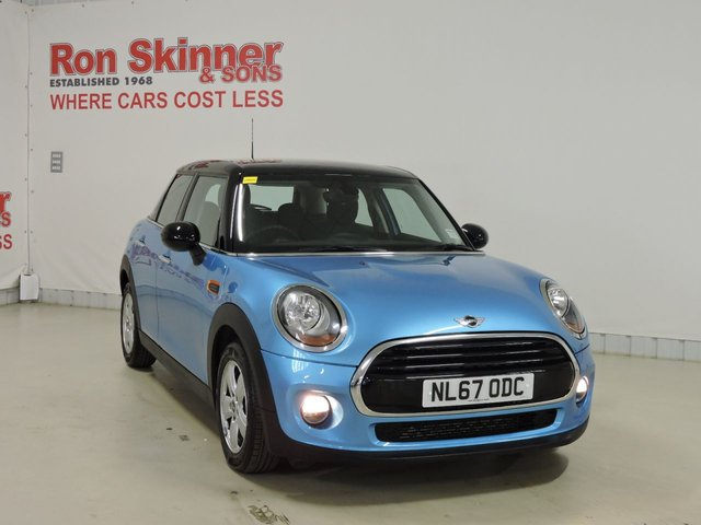View our 2017 67 MINI HATCH COOPER 1.5 COOPER 5d 134 BHP with Black Roof + Mirrors