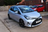 USED 2015 64 TOYOTA YARIS 1.3 VVT-I SPORT 5d 99 BHP **** £30 ROAD TAX * REVERSE CAMERA * BLUETOOTH * AIR CONDITIONING ****