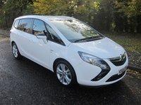 2015 VAUXHALL ZAFIRA TOURER 2.0 SRI CDTI 5d AUTO 162 BHP £10000.00