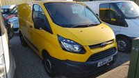 2014 FORD TRANSIT CUSTOM 310 BASE 125PS L1 H1 TAILGATE VAN WITH AIR-CONDITIONING £8750.00