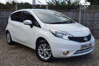 USED 2015 64 NISSAN NOTE 1.2 ACENTA 5d 80 BHP Free 12  month warranty