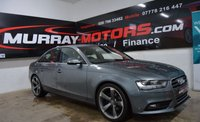 2012 AUDI A4 2.0 TDI SE 4DOOR 134 BHP MONSOON GREY £10250.00