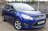 USED 2014 14 FORD C-MAX 1.6 ZETEC 5d 104 BHP Free 12  month warranty