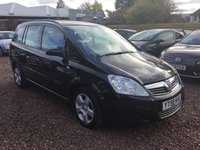 USED 2008 58 VAUXHALL ZAFIRA 1.6 EXCLUSIV 5d 105 BHP 7 SEATER