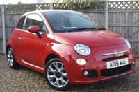USED 2015 15 FIAT 500 1.2 S 3d 69 BHP Free 12  month warranty