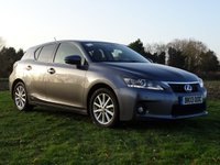 USED 2013 13 LEXUS CT 1.8 200H ADVANCE 5d AUTO 136 BHP