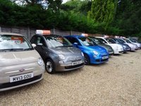 USED 2015 65 FIAT 500 1.2 CONVERTIBLE LOUNGE 3d 69 BHP NEW SHAPE Low Mileage, Full Service History + Serviced by ourselves, One Owner, MOT until September 2019, Good fuel economy! Only £20 Road Tax! New Shape, Convertible