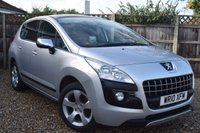 USED 2010 10 PEUGEOT 3008 1.6 EXCLUSIVE HDI 5d AUTO 110 BHP Free 12  month warranty
