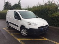 USED 2014 64 PEUGEOT PARTNER 1.6 HDI SE L1 625 3 SEAT 75PS 3 Seats, One Owner