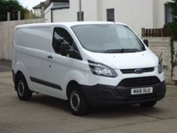 USED 2016 16 FORD TRANSIT CUSTOM 2.2 290 LR P/V 1d 99 BHP MORE VANS AVAILABLE WWW.RYDALMOTORS.CO.UK. VAT TO BE ADDED TO THIS VAN